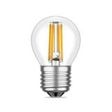 LED Лампа G45 E27 4 Вт. прозрачная серии Филамент