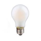LED Лампа А60  6 Вт.  матовая серии Филамент