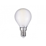 LED G45 E14 3.6 Вт матовая серии Филамент