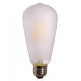 LED Лампа ST64  6 Вт. матовая серии Филамент