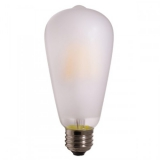 LED Лампа ST64  4Вт. матовая серии Филамент