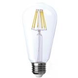 LED Лампа ST64  7.5 Вт. прозрачная серии Филамент