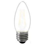 LED Лампа C35 (свеча) E27 5 Вт матовая серии Филамент